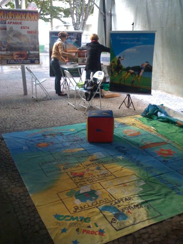 Stand da Cemig (Companhia Energética de Minas Gerais)