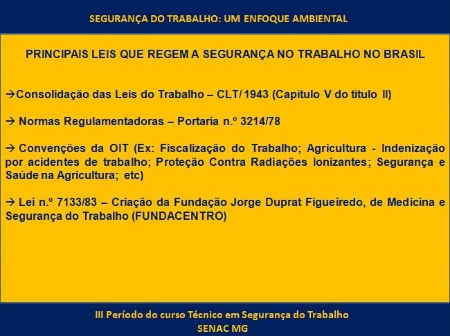 Well-known Conclusão do Curso Técnico em Segurança do Trabalho | Saúde  GZ52